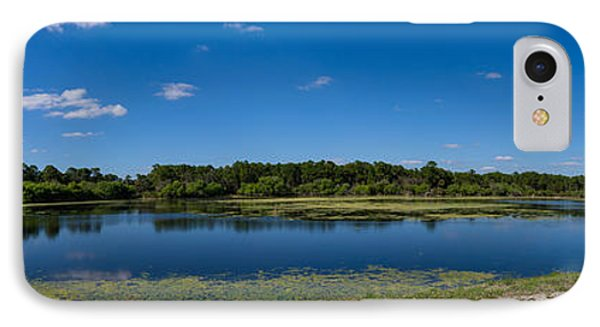 Ollies Pond In Port Charlotte, Florida IPhone Case by Panoramic Images