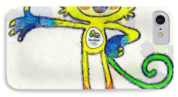 Olympic Games Rio 2016 - Da IPhone Case by Leonardo Digenio