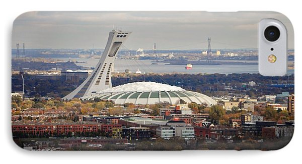 Olympic Stadium  IPhone Case by Reb Frost