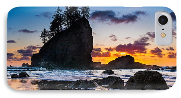 Olympic Sunset IPhone Case by Inge Johnsson