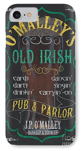 O'malley's Old Irish Pub IPhone Case by Debbie DeWitt