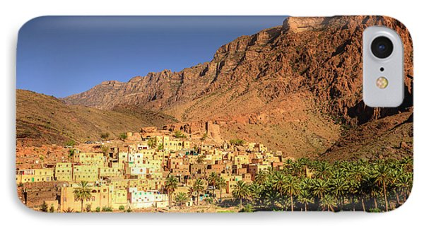 Omani Village In The Mountains IPhone Case