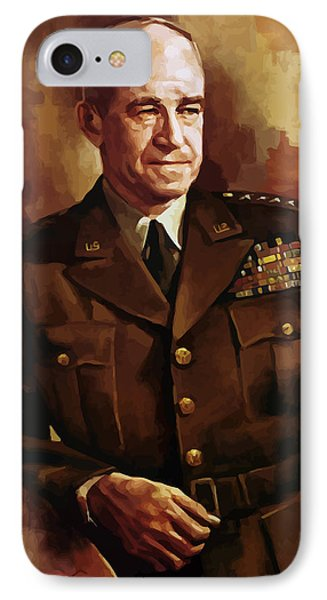 Omar Bradley IPhone Case by War Is Hell Store