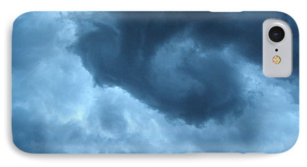 Ominous  IPhone Case by Angie Rea