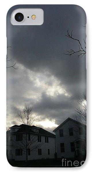 Ominous Clouds Phone Case by Diamante Lavendar