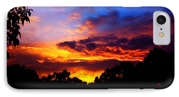 Ominous Sunset Phone Case by Clayton Bruster