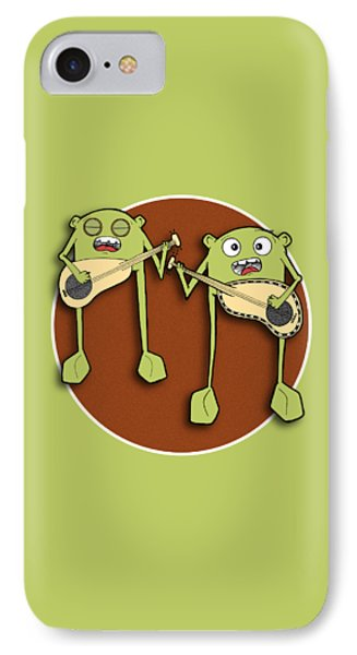 Omti And Itmo IPhone Case by Uncle J's Monsters