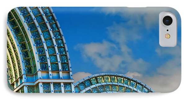 On A Blue Day Phone Case by Wendy J St Christopher