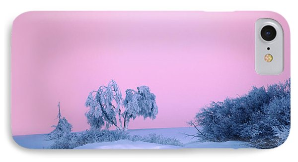 On A Magical Wintery Morning.... IPhone Case