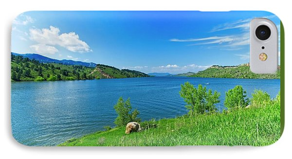 On A Perfect Summer Afternoon IPhone Case by Jon Burch Photography
