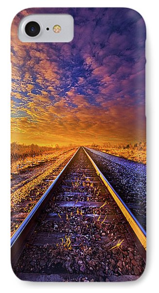 IPhone Case featuring the photograph On A Train Bound For Nowhere by Phil Koch