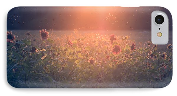 On A Warm Summers Evening IPhone Case by Chris Fletcher