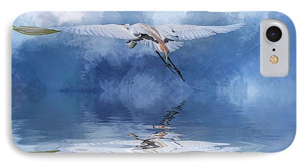 On A Wing And A Prayer IPhone Case by Cyndy Doty