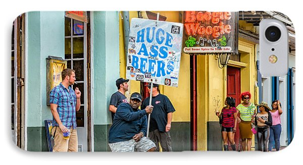 On Bourbon Street 2 IPhone Case by Steve Harrington