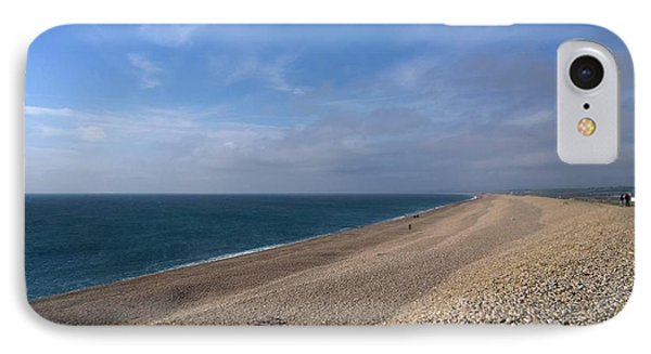 On Chesil Beach IPhone Case by Anne Kotan