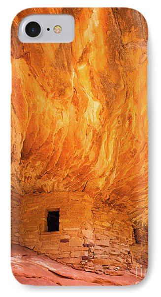 On Fire IPhone Case by Inge Johnsson