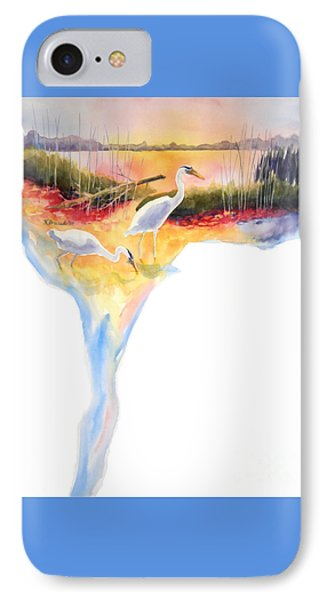 On Fire Phone Case by Kathy Braud
