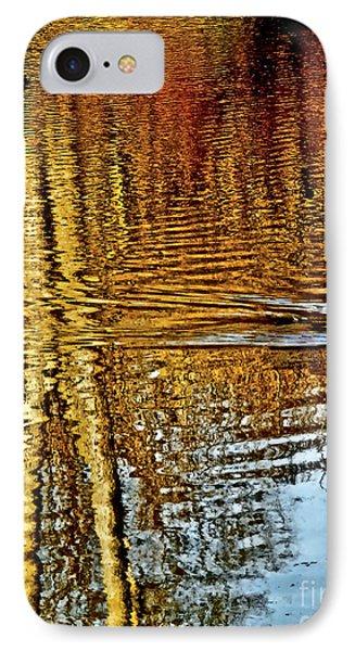 On Golden Pond IPhone Case by Carol F Austin