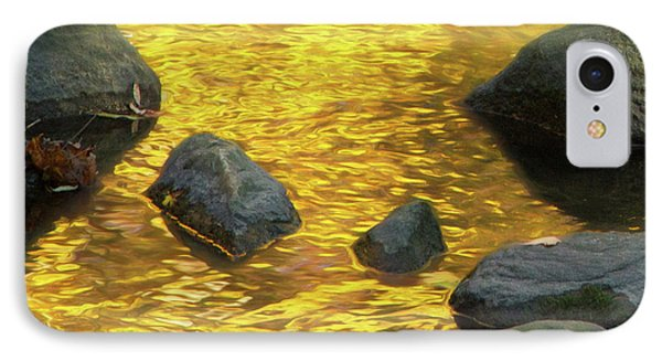 On Golden Pond IPhone Case by Marilyn Cornwell