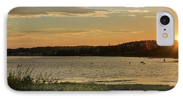 On North Rustico Harbour IPhone Case by Chris Bordeleau