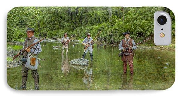 On Patrol With Wulff's Rangers Junita Crossing Phone Case by Randy Steele