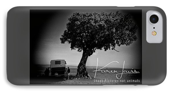 IPhone Case featuring the photograph On Safari by Karen Lewis