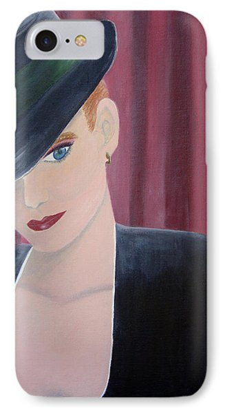 On Stage Phone Case by Donna Blackhall
