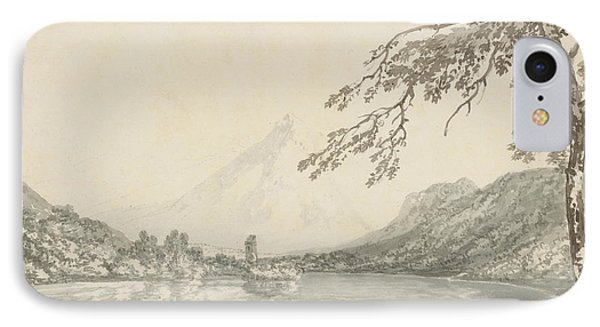 On The Aar Between Unterseen And Lake Of Brienz  IPhone Case by Joseph Mallord William Turner