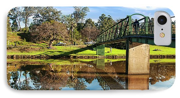 IPhone Case featuring the photograph On The Banks Of The River By Kaye Menner by Kaye Menner