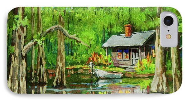 On The Bayou Phone Case by Dianne Parks