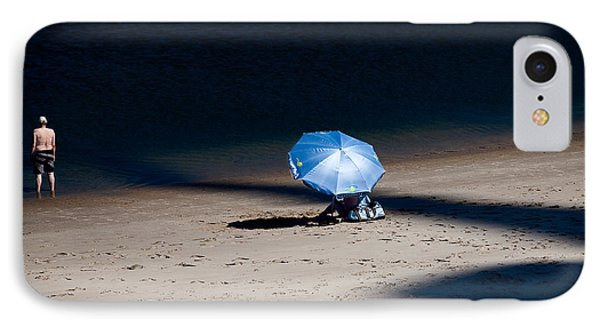 On The Beach Phone Case by Dave Bowman