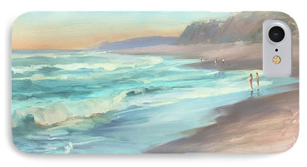 On The Beach IPhone Case by Steve Henderson