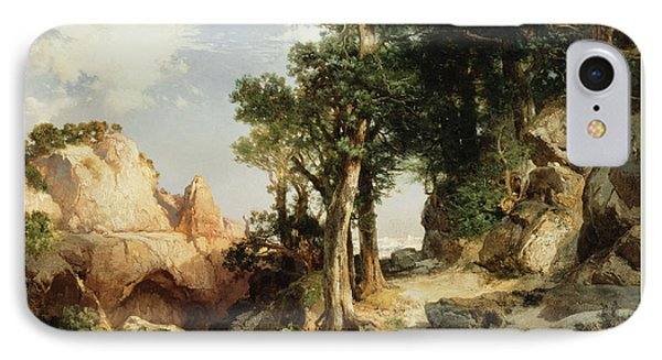 On The Berry Trail  Grand Canyon Of Arizona IPhone Case by Thomas Moran