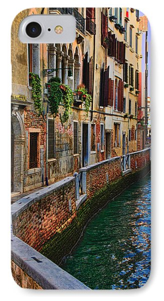 On The Canal-venice IPhone Case by Tom Prendergast