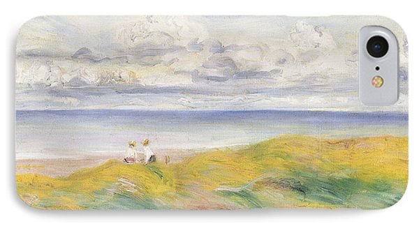 On The Cliffs Phone Case by Pierre Auguste Renoir
