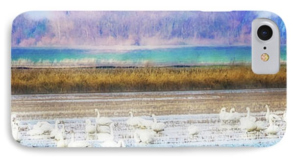 On The Delta Panorama IPhone Case by Terry Davis