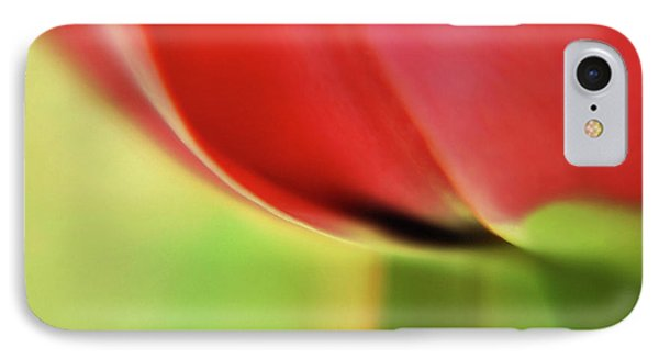 IPhone Case featuring the photograph  Tulip's  Edge by Elaine Manley