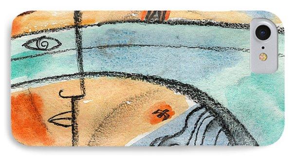 On The Edge Of The Bridge IPhone Case by Leon Zernitsky