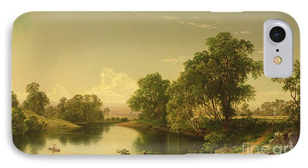 On The Esopus Creek, Ulster County, Ny IPhone Case