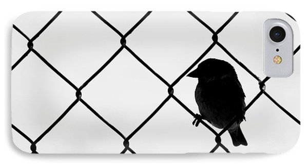 On The Fence IPhone Case by Afrodita Ellerman