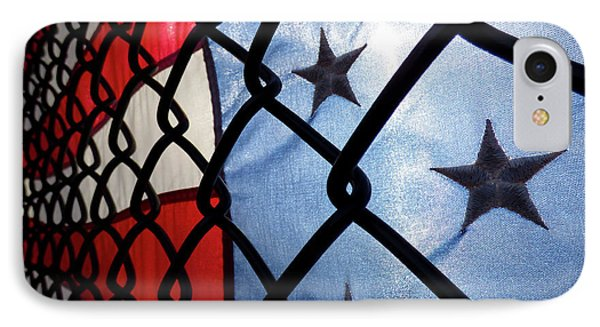 IPhone Case featuring the photograph On The Fence by Robert Geary