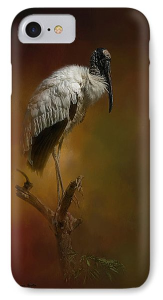 Stork iPhone 7 Case - On The Fork by Marvin Spates