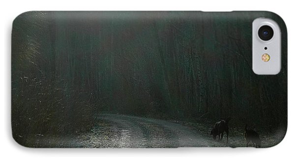 On The Hunt IPhone Case by Karl Reid