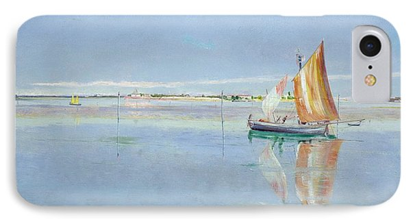 On The Lagoon Phone Case by John William Inchbold