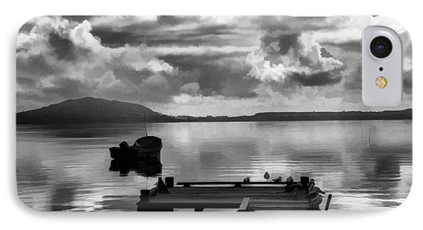 On The Lakes IPhone Case by Rick Bragan