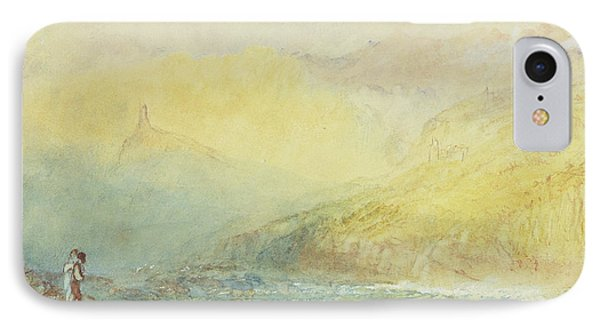 On The Mosell, Near Traben Trarabach IPhone Case by Joseph Mallord William Turner