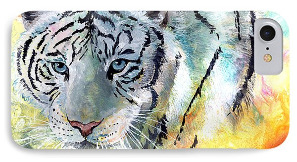 On The Prowl Phone Case by Sherry Shipley