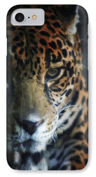 On The Prowl Phone Case by Trish Tritz