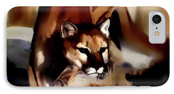 On The Prowl Phone Case by Vic Weiford