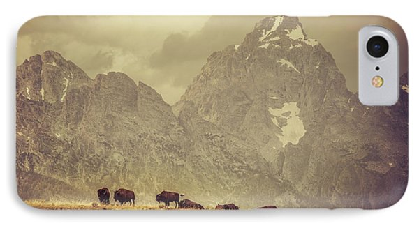 On The Ridge IPhone Case by Mary Hone